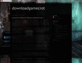 downloadgamecrot.blogspot.com screenshot