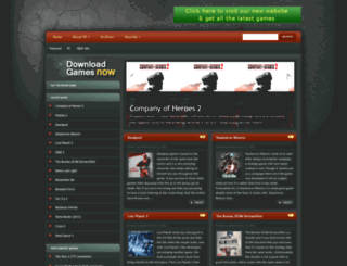 downloadgamesnow.org screenshot