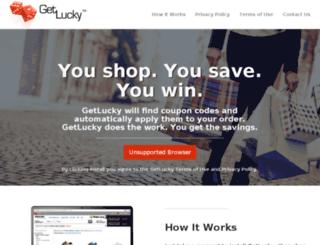 downloadgetlucky.com screenshot