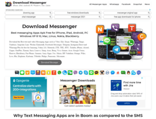 downloadmessenger.org screenshot