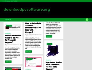 downloadpcsoftware.org screenshot