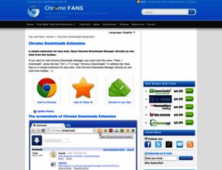 downloads.chromefans.org screenshot