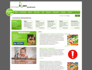 downsyndroom.nl screenshot