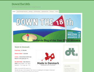 downthe18th.wordpress.com screenshot