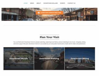downtownvernon.com screenshot
