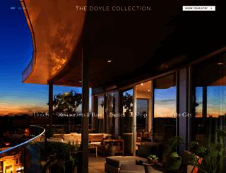 doylecollection.com screenshot