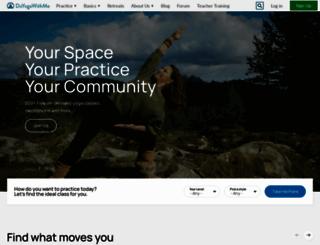 doyogawithme.com screenshot