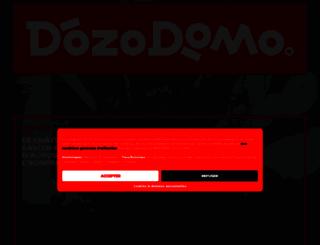 dozodomo.com screenshot
