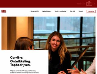 dpa.nl screenshot