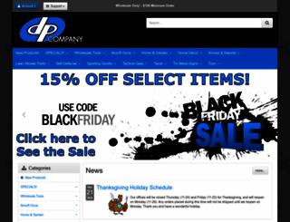 dpciwholesale.com screenshot
