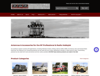 dpdproductions.com screenshot
