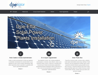 dpesolar.com screenshot