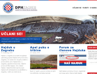 dph-zagreb.com screenshot