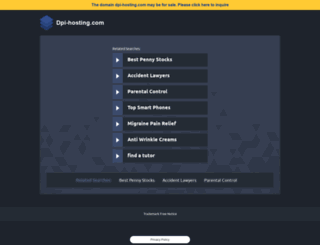 dpi-hosting.com screenshot