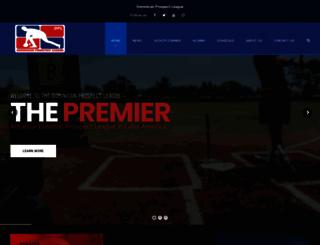 dplbaseball.com screenshot