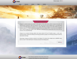 dpol.changyou.com screenshot
