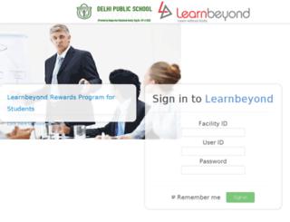 dps.learnbeyond.in screenshot