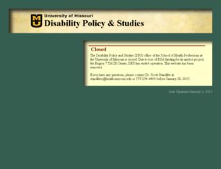 dps.missouri.edu screenshot