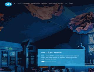 dpsceilings.com screenshot