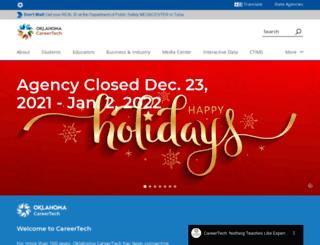 dpt.okcareertech.org screenshot