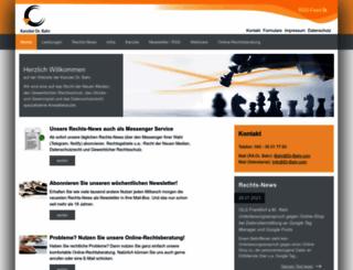 dr-bahr.com screenshot