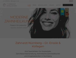 dr-enssle.de screenshot