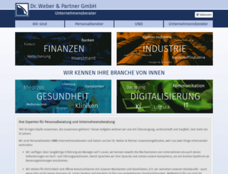 dr-weber-partner.de screenshot