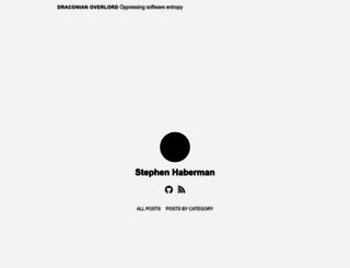 draconianoverlord.com screenshot
