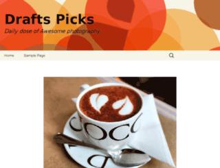 draftspicks.org screenshot