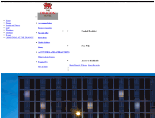 dragon-hotel.co.uk screenshot