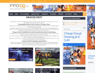 dragon-nest.mmorpg.de screenshot