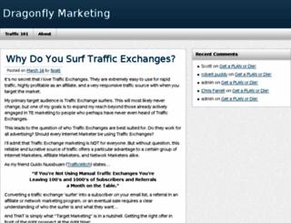 dragonflymarketing.com screenshot