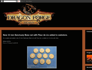 dragonforgedesign.blogspot.com screenshot