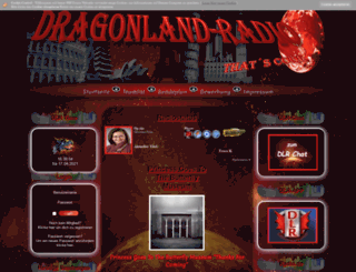 dragonland-radio.de screenshot