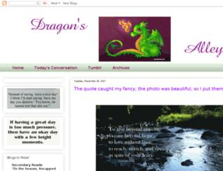 dragonsalley.blogspot.com screenshot
