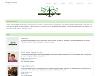 dragonsector.pl screenshot