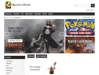 dragonshouse.com.br screenshot