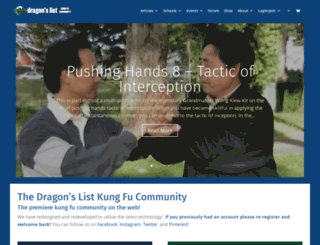 dragonslist.com screenshot