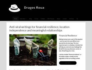 dragosroua.com screenshot