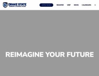 drakestate.edu screenshot