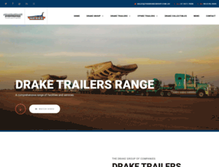 draketrailers.com screenshot