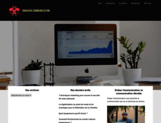 drakkar-communication.com screenshot