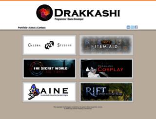 drakkashi.com screenshot