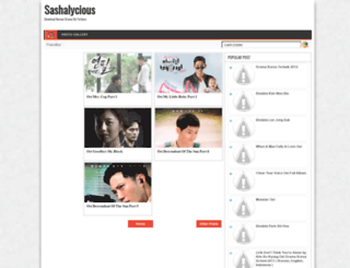 dramakoreasoundtrack.blogspot.com screenshot