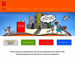 dramanotebook.com screenshot