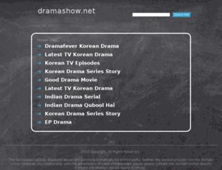 dramashow.net screenshot
