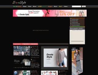 dramastyle.com screenshot