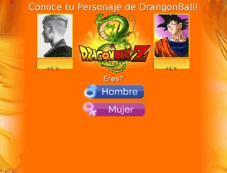 drangonball.tu-respuesta.com screenshot
