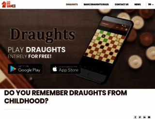 draughtsforandroid.com screenshot