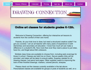 drawingconnection.com screenshot